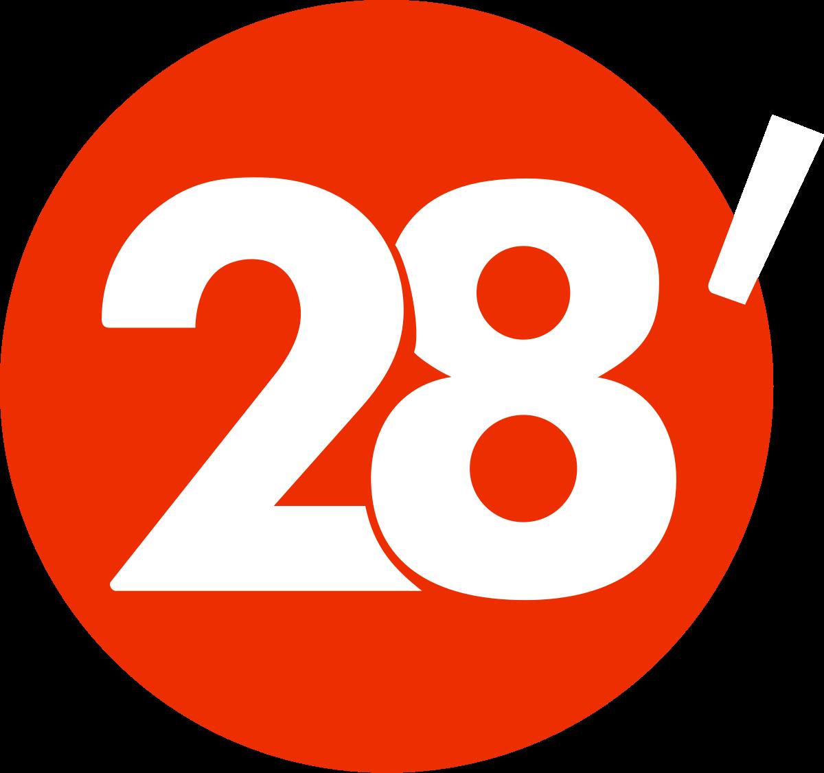 logo 28 minutes